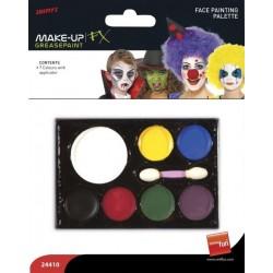 Barvy na obličej - 7 barev,...