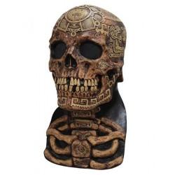Maska Aztec lebka