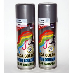 Barva na vlasy Barva: stříbrná