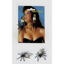 Náušnice s pavoukem