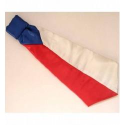 Kravata s českou vlajkou