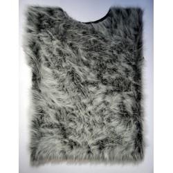Kožich šedý lux Velikost: XL