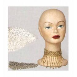 Korálky na krk Barva: stříbrná