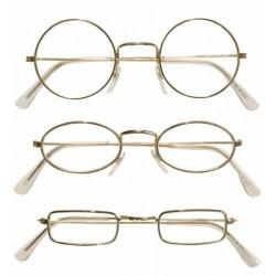 Zlaté brýle se skly tvar:...