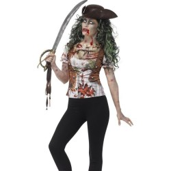 Tričko pirátka Zombie...