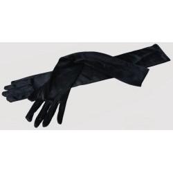 Rukavice černé dlouhé 55cm