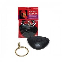 Pirátská náušnice s klapkou