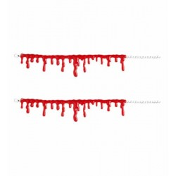 Krvavé náramky - 2ks