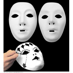 Maska bílá druh: žena