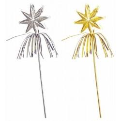 Hůlka - hvězdička Barva: zlatá