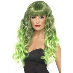 Paruka Glamour Barva: Zelená