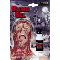 Krev gel v lahvičce
