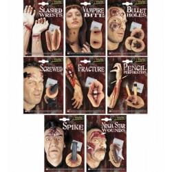 Jizvy hororové druh: rány