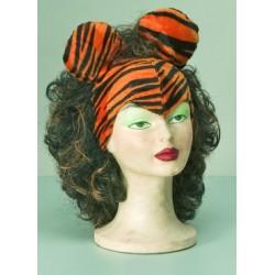 Čepička s vlasy - Tygr