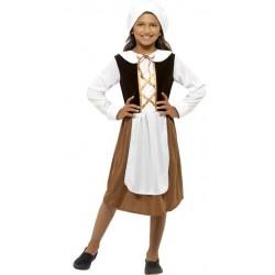 Kostým - Tudor girl