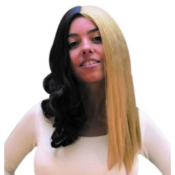 Paruka černo-blond