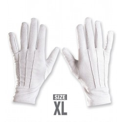 Rukavice bílé XL