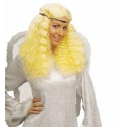 Paruka blond s čelenkou
