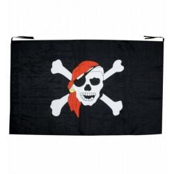 Vlajka pirátská - 130x80cm