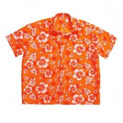 Košile Havaj - oranžová...