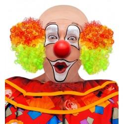 Pleš klaunská barevná