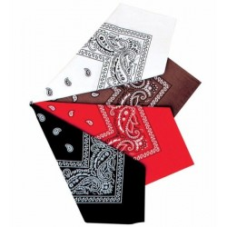 Šátek kovbojský Barva: červená