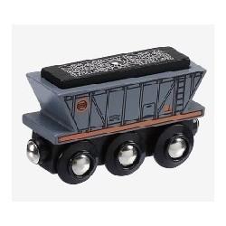 Nákladní vagón - uhlí -...