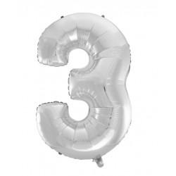 Balonky čísla - 40cm čísla: 3