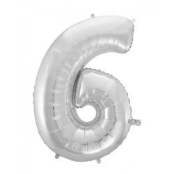 Balonky čísla - 40cm čísla: 6