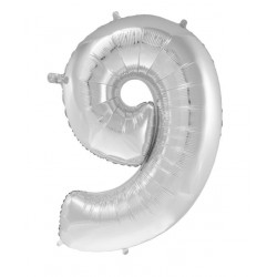 Balonky čísla - 40cm čísla: 9