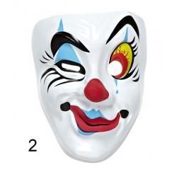 Barevná plastová maska...