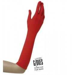 Rukavice červené - 37cm