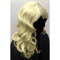 Luxusní blond paruka