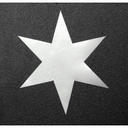 Samolepka hvězda - 5cm...
