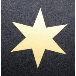Samolepka hvězda - 3,5cm...