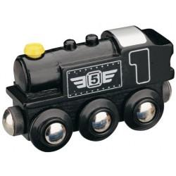Parní lokomotiva - černá -...