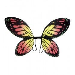 Křídla motýl - oranžové