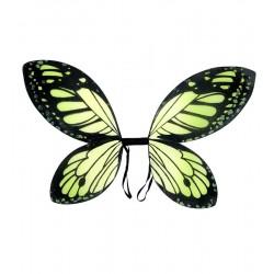 Křídla motýl - zelené