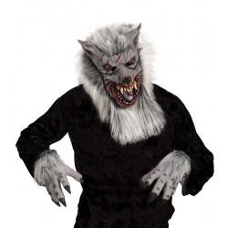 Maska a rukavice na vlka