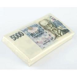 Papírové ubrousky - 5000kč