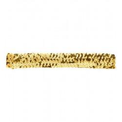 Čelenka - Charlestone - zlatá