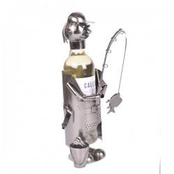 Rybář - stojan na víno