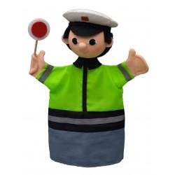 Policista 27cm, maňásek