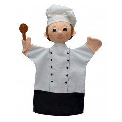Kuchař 30cm, maňásek