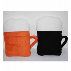 Polštář  Pivo Barva: oranžová